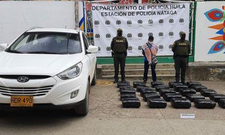 Envían a centro carcelario a un hombre por, presuntamente, transportar más de 125 kilos de sustancias alucinógenas