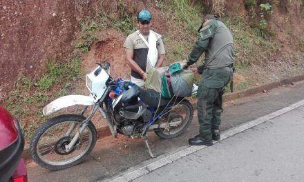 Sorprendido transportando 15 kilos de marihuana en La Plata