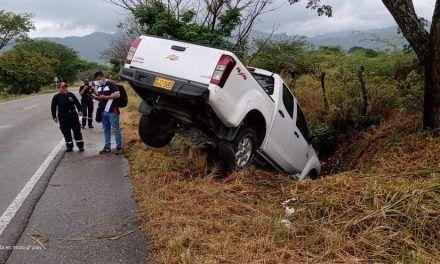 Dos accidentes se presentaron esta mañana en la vía Hobo – Gigante