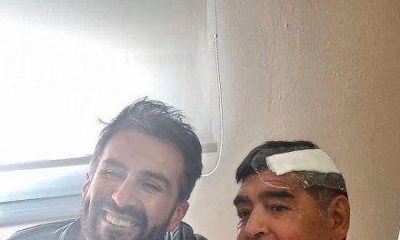 Hijo de Maradona arremetió contra el médico del astro