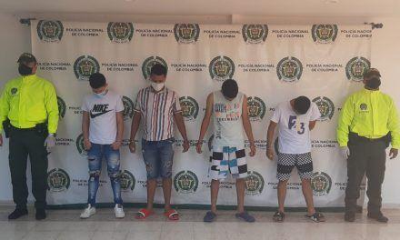 Por hurto a personas fueron judicializados cuatro supuestos integrantes de Los Santachavas