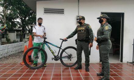 En tiempo record fue recuperada bicicleta que había sido hurtada en Neiva
