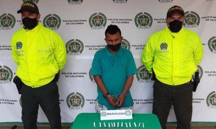 Capturado alias el «Zarco» por tráfico de estupefacientes en Campoalegre