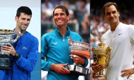 Djokovic vuelve a pisarle los talones a Nadal y Federer