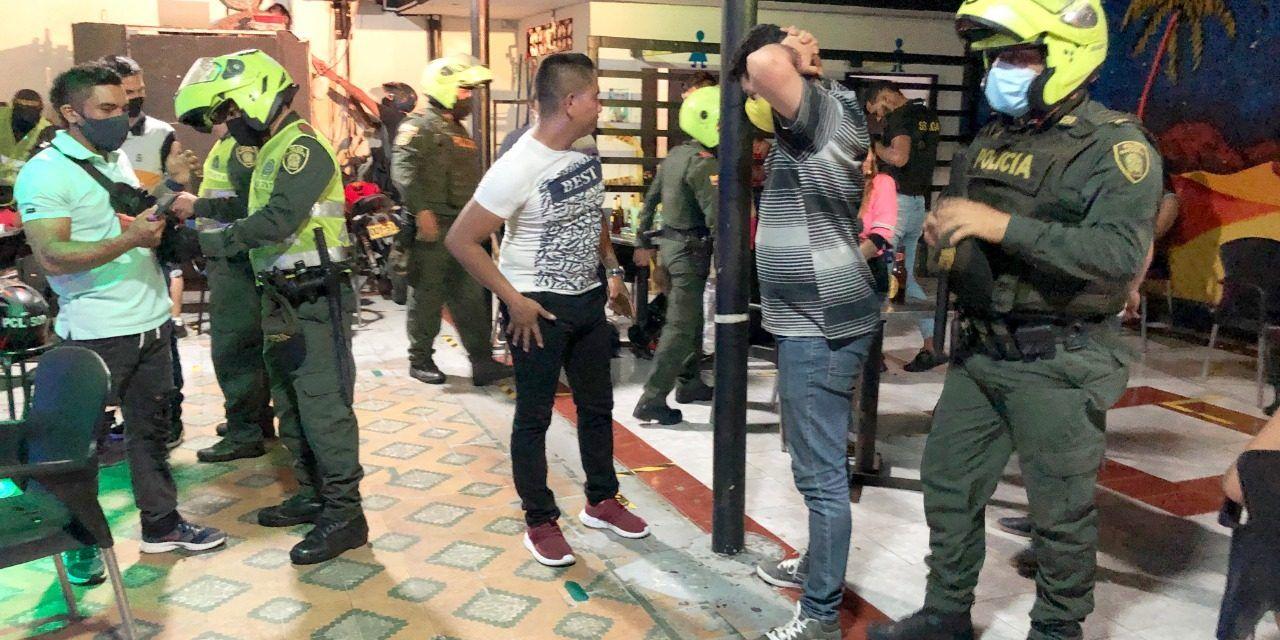 Atraco interrumpido por autoridades en Neiva