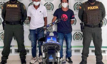 Luego de hurtar celular, dos delincuentes fueron detenidos en Pitalito