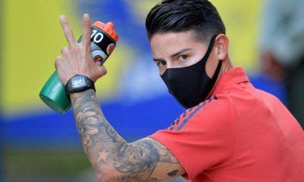 ¿Estará James Rodríguez en la jornada de eliminatorias?