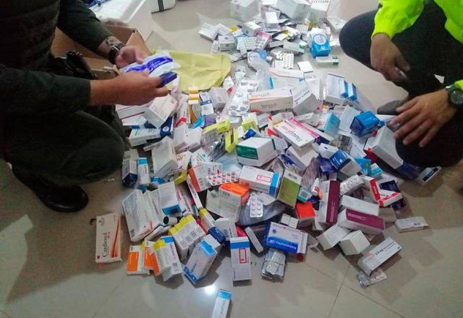Más de 400 mil medicamentos fueron decomisados en el país