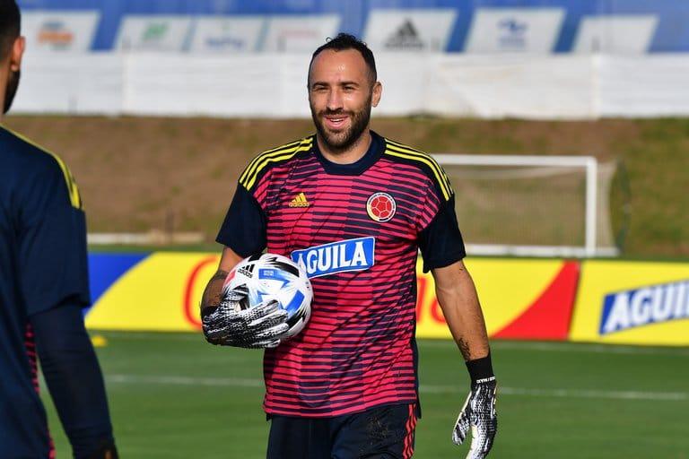 Ospina regresó a trabajos de campo con el Napoli