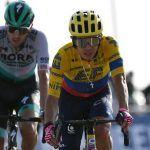 Higuita llega cuarto en quinta etapa del UAE Tour