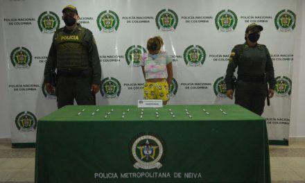 Capturan a venezolana con varias dosis de marihuana en Neiva