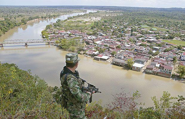 Campo minado en Catatumbo dejó cinco militares heridos