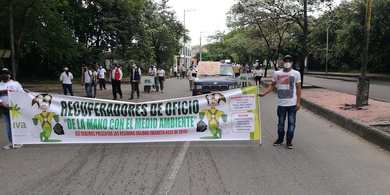 Recicladores conmemoraron su día con manifestación