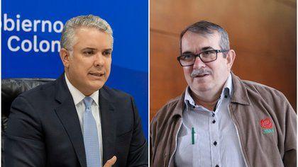 Duque se reunió con Rodrigo Londoño, 'Timochenko'
