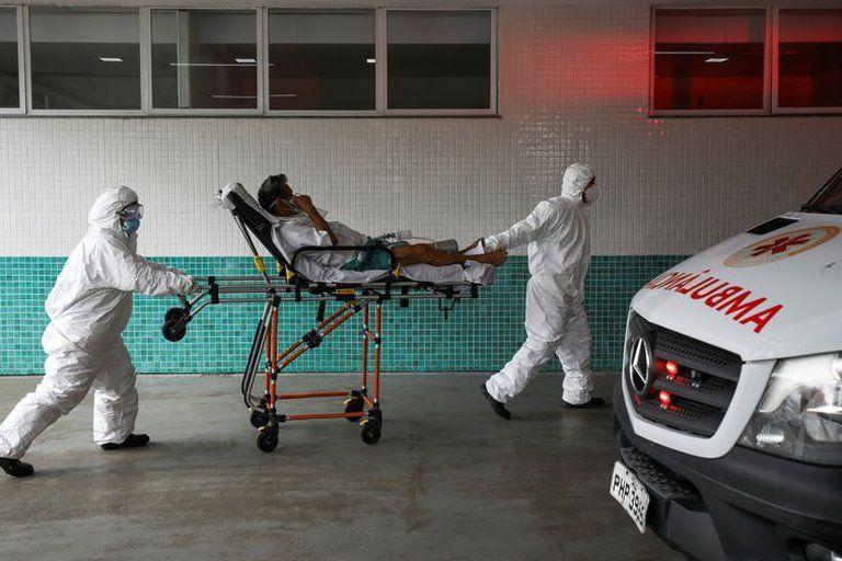 Brasilia entró en un segundo confinamiento para frenar los contagios de covid-19