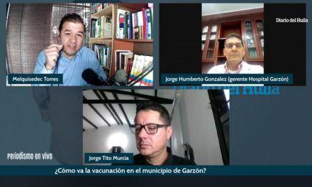 Gerente del Hospital de Garzón aclaró dudas sobre supuestas irregularidades en vacunación