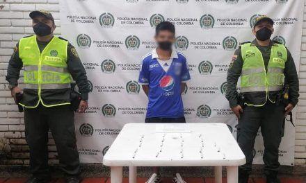 Hombre fue capturado en flagrancia con estupefacientes
