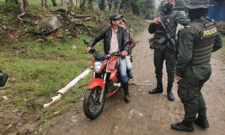 Policía desplegó acciones de acercamiento con la comunidad de Algeciras