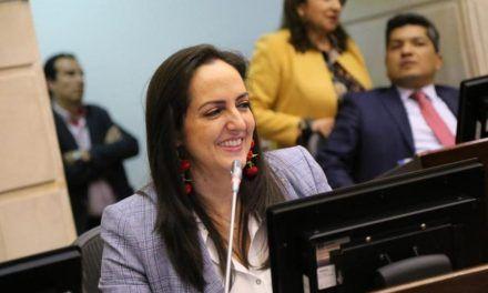 María Fernanda Cabal propuso decreto a favor del porte de armas