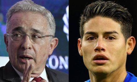 Uribe y James, los hombres colombianos más buscados en Google