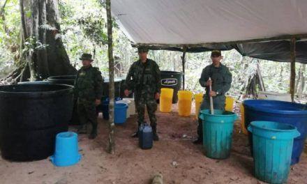Ejército incautó más de 250 kilos de cocaína en Guaviare