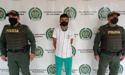 Hombre fue capturado por el delito de deserción