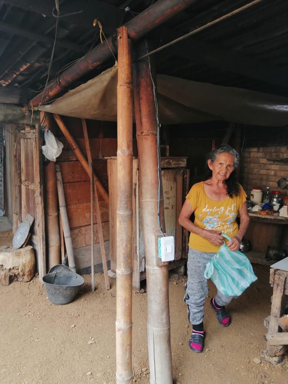 Doña Margarita solo quiere pasar los últimos años de su vida en una vivienda que no amenace contra su integridad.