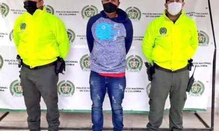 """Capturado alias el """"Negro Valencia"""""""