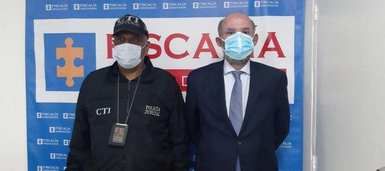 Oficializan captura del expresidente de la Corte Suprema Francisco Ricaurte