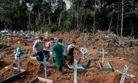Brasil vuelve a batir récord de muertes diarias