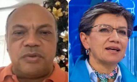 """""""Mosquita muerta"""": ofensivo reclamo de Luis Colmenares a Claudia López"""