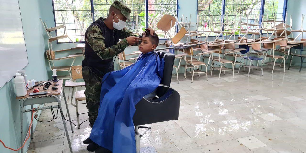 Ejército Nacional trabaja en pro al desarrollo de Algeciras