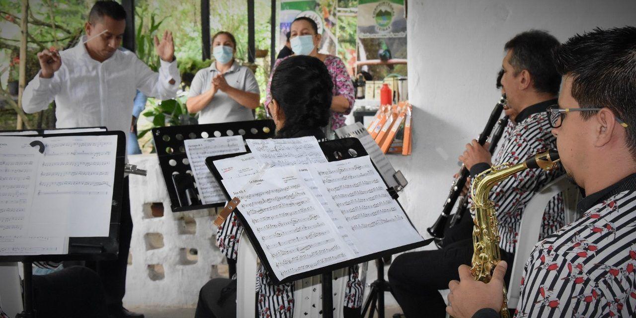 Banda Sinfónica del Huila rindió sentido homenaje al Río Las Ceibas en el Dia del Agua