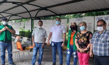 Trabajadores del ICBF en el Huila se unieron a protesta nacional