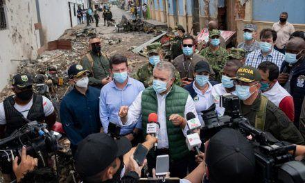 """Este país no se va a dejar humillar más del terrorismo"""": Presidente Iván Duque"""