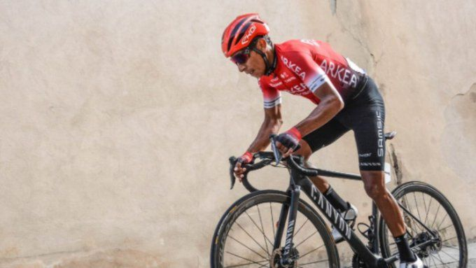 Nairo Quintana se metió en el top 15 de la etapa 1 de la Vuelta a Cataluña