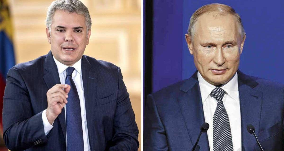 """Rusia estaría intentando """"manipular y desestabilizar"""" a Colombia"""