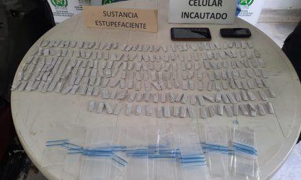 Capturados con 232 dosis de bazuco