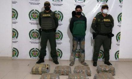 Capturado con 33 kilos de marihuana en la vía Paicol – Neiva