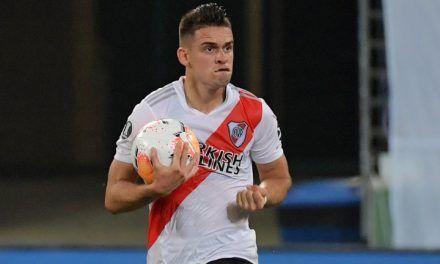 Santos Borré fue nominado a mejor jugador de América 2020
