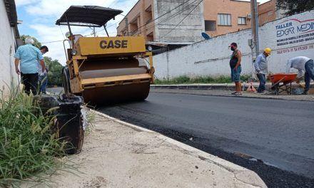 Restauración de la malla vial de barrio Quirinal