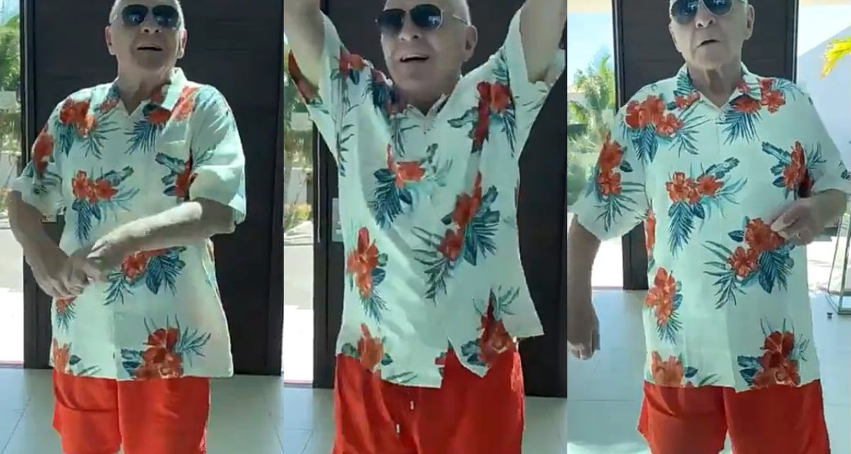 """""""Soy colombiano"""": Anthony Hopkins bailó a a ritmo del merengue"""