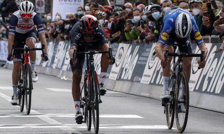 Segundo lugar para Egan Bernal en el Trofeo Laigueglia