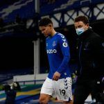 Everton preocupado por situación de James