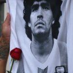 Hija de Maradona convocó a marcha