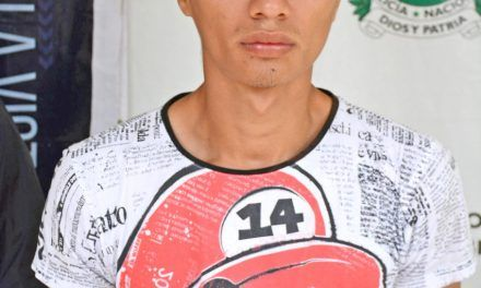 A la carcel 'Tito loco', presunto homicida de Jhonatan Zuñiga