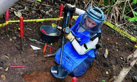 En 2020 aumentaron en 46,4 % las víctimas de minas antipersonal