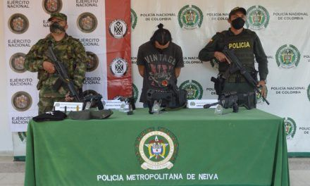 Palermuno capturado por porte ilegal de armas