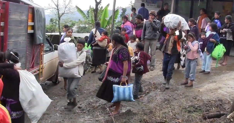 Más de 11.000 personas han sido desplazadas en 2021