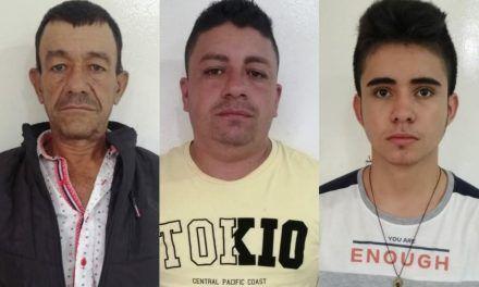 Detenidos tres hombres con armas de fuego en Timaná